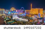 Small photo of Las Vegas, Nevada, United States : Panoramic view of the Las Vegas Strip. it is a stretch of South Las Vegas Boulevard in Nevada that is known for its concentration of hotels and casinos on 2016-07-14