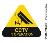 Vector Of Cctv And Camera...