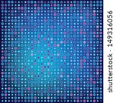 vector blue background dots | Shutterstock .eps vector #149316056