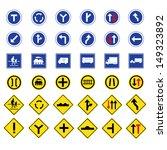 vector illustration of traffic... | Shutterstock .eps vector #149323892