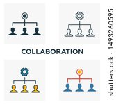 collaboration outline icon....