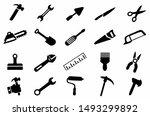 tools maintenance icon set ... | Shutterstock .eps vector #1493299892