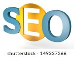 acronym concept  seo for search ... | Shutterstock . vector #149337266