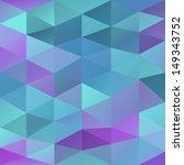 retro triangle background  ... | Shutterstock .eps vector #149343752