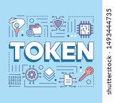 crypto token word concepts...