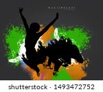 nightlife and disco concept....   Shutterstock .eps vector #1493472752