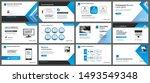 presentation and slide layout... | Shutterstock .eps vector #1493549348