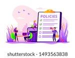 corporate compliance. corporate ... | Shutterstock .eps vector #1493563838