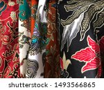 batik is the art of painting...   Shutterstock . vector #1493566865