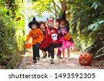 Child In Halloween Costume....