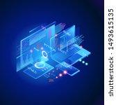 programming web banner. best... | Shutterstock .eps vector #1493615135