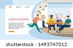 informative flyer inscription...   Shutterstock .eps vector #1493747012