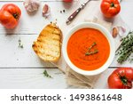 Tomato Soup With Grilled Cheese ...