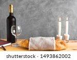 shabbat or shabath concept.... | Shutterstock . vector #1493862002