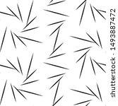 vector seamless black and white ...   Shutterstock .eps vector #1493887472