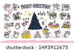 Vector Merry Christmas Set Of...