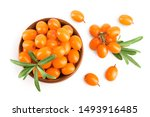 Sea Buckthorn. Fresh Ripe Berry ...