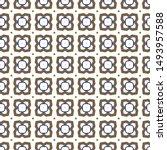geometric ornamental vector... | Shutterstock .eps vector #1493957588