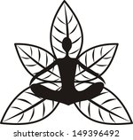 yoga illustration   Shutterstock . vector #149396492