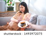 Asian woman pregnant refused to ...