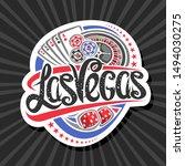 vector logo for las vegas ... | Shutterstock .eps vector #1494030275