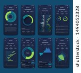 different ui  ux  gui screens...