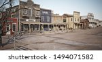 Wide Angled View Of A Rustic...
