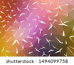 vector background from polygons ... | Shutterstock .eps vector #1494099758