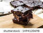 Chocolate Brownie Cake Made...