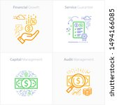 business and finance icon set ...   Shutterstock .eps vector #1494166085