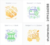 business and finance icon set   ... | Shutterstock .eps vector #1494166088