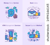 banking and finance icon set  ...   Shutterstock .eps vector #1494166145
