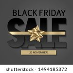black friday sale design... | Shutterstock .eps vector #1494185372