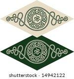 vector pattern using celtic...