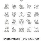 winter sale well crafted pixel... | Shutterstock .eps vector #1494230735