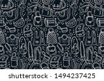 bag seamless pattern ... | Shutterstock .eps vector #1494237425