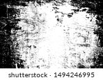 distressed spray grainy overlay ... | Shutterstock .eps vector #1494246995