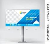 billboard  creative design for... | Shutterstock .eps vector #1494271445