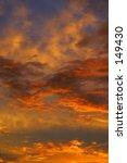photo of a sunset sky. | Shutterstock . vector #149430