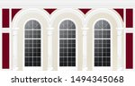beige cream classic palace... | Shutterstock .eps vector #1494345068