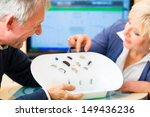 older man and woman or... | Shutterstock . vector #149436236
