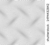 wavy line seamless pattern.... | Shutterstock .eps vector #1494432842