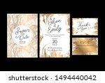 invitation to the wedding  a... | Shutterstock .eps vector #1494440042