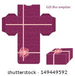 present box template with... | Shutterstock .eps vector #149449592