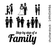 family design over white... | Shutterstock .eps vector #149454986