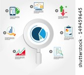 data analytic  business data... | Shutterstock .eps vector #149459645