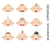 boys icons | Shutterstock . vector #149460182