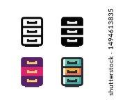 cabinet logo icon design in...
