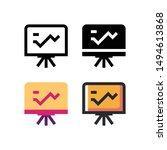 presentation logo icon design...