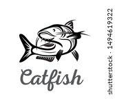 catfish elegant drawing art...